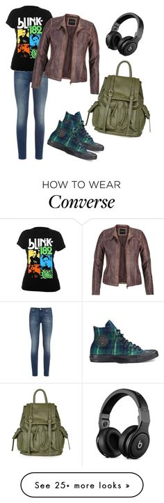 """all the small things"" by tanz-mim on Polyvore featuring Converse, 7 For All Mankind, maurices and Topshop"
