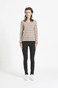 Sanella o-neck stripe 3111 - 1