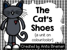 The Cat's Shoes {a unit on color}