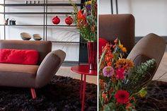 Luxuosos e coloridos sofás contemporâneos