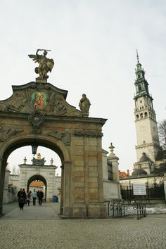 Częstochowa the home of the Black Madonna an easy day trip from Krakow Poland
