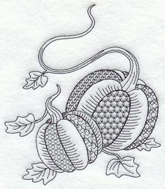 one-color black work Embroidery Designs:  Embroidery Library