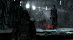 My favorite screenshot. Vampire/Nightengale armor. #games #Skyrim #elderscrolls #BE3 #gaming #videogames #Concours #NGC