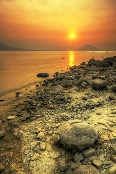 Sunset at Jatiluhur by cepdanie ™ on 500px
