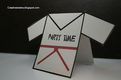 Karate Party {Kids Birthday Party} via TipJunkie.com