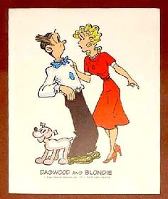 dagwood and blondie on pinterest the sunday comic strips and comic