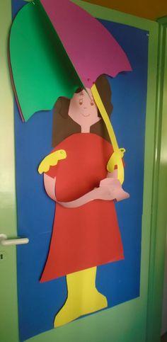 Classroom, Kindergarten Decoration, Outdoor Decor, Blog, Crafts, Doors, Home Decor, Class Room, Manualidades