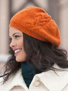 48a2a7019af1c Ravelry  Solitaire Beret pattern by Natalie Larson Mom Hats