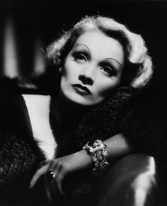 The great actress & beautiful, Marlene Dietrich