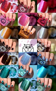 Spell Polish is a boutique/indie nail lacquer with a luxurious formula of glitters, micas and pigments- MINUS the toxins! Out Of The Woods, Class Ring, Swatch, Glitter, Beautiful, Going Out, Woodwind Instrument, Pattern, Glow