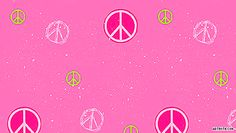 peace in pink ;P