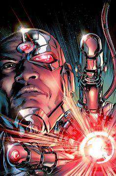 Cyborg Rebirth Cover