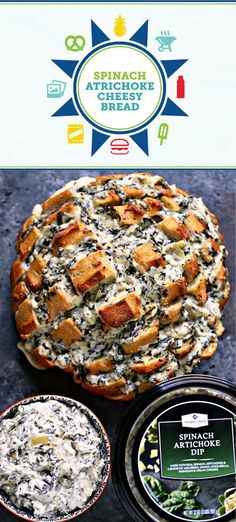 Summer entertaining is right around the corner—which means it's time to stock up on all the party essentials and recipe inspiration you'll need! And this dish for Spinach Artichoke Cheesy Bread is a great place to start. Pick up all the ingredients you'll need for your outdoor get-together—like refreshing Honest®️️ Tea —at Sam's Club to get started. Did we mention that you can make this side dish on the grill? How fun!