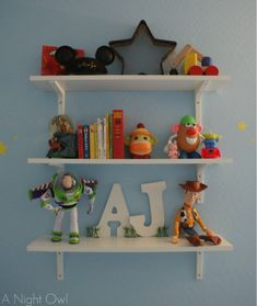 He has to have the Shelf!    (but of course no toys will go on the top!)