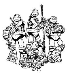 13 Ideas De Pato Tortugas Ninjas Ninja Dibujo Dibujos Para Colorear