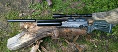Rapid Air Weapons model HM-1000 in .25 Caliber. What a beautiful air rifle!