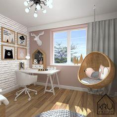» Zakres projektu: pokój dziecięcy KRU Design Playroom Decor, Bedroom Decor, Cool House Designs, Cool Rooms, New Room, Cozy House, Girls Bedroom, Interior Design, Furniture