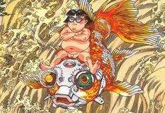 Akira's Katsuhiro Otomo to design giant mural featuring cyborg fish for Tohoku's Sendai Airport. Katsuhiro Otomo, Sendai, Akira, Disney Characters, Fictional Characters, Princess Zelda, Animation, Japan, Fish