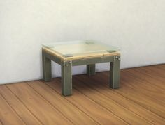 """Mod The Sims - Small """"Industrial"""" Coffee Table"""