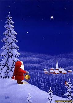 Santa Claus Eva Melhuish