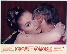 Lobby Card Sodom and Gomorrah Pier Angeli Lot's Wife, Sodom And Gomorrah, Photos Originales, Hebrew Bible, Paris, Bible Stories, Hollywood, Actors, Film