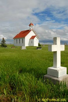 ~A little white church in the country~