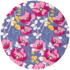 """Joel Dewberry, Atrium, Monarch Fuchsia  Fabric is sold by the 1/2 Yard. For example, if you would like to purchase 1 Yard, you would enter 2 in the Qty. box at Checkout. Yardage is cut in one continuous piece.  Examples:  1/2 yard = 1 1 yard = 2 1 1/2 yards = 3 2 yards = 4  1/2 Yard Measures 18"""" x 44/45""""   Fiber Content: 100% Cotton  Hover over image for a larger, better view."""