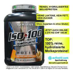 100% reine, hydrolisierte Molkeproteine findet man selten auf dem Markt - ISO 100 von DYMATIZE hat diese Besonderheit. ►►► Jetzt auch Aroma Orange Dreamsicle online, 2.270 kg zu CHF 108.80 #ISO100 #DYMATIZE #hydrolisiert #Molkeprotein #Whey #Orange #laktosefrei #keinFett #keinZucker #glutenfrei #lowcarb #lowcarbs #lowcarbschweiz #fitness #fitnessschweiz #lowcarbswitzerland #lowcarbfood #lowcarbdiet #highprotein #hoherProteingehalt #Muskelaufbau #Bodybuilding #Kraftsport #abnehmen