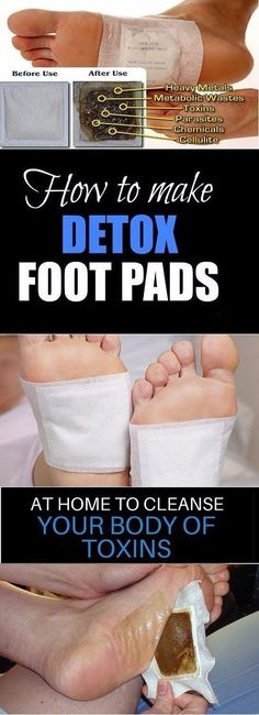 Make Detox Foot Pads at Home and Remove All the Dangerous Toxins from Your Body Overnight - The Health Bible