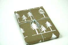 Christmas Wrapping Paper Woodland Family of by UrbanBirdandCo