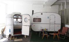 Indoor Camping in Berlijn.