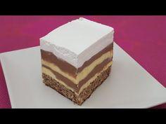 Prajitura Maria - CEA MAI BUNA PRAJITURA DE CASA - YouTube Mai, Tiramisu, Cheesecake, Deserts, Facebook, Ethnic Recipes, Food, Youtube, Cheesecakes