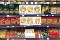 Creative pasta packaging design concept by Nikita Konkin