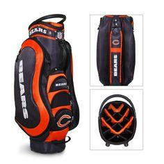 "Chicago Bears Nfl Cart Bag - 14 Way ""medalist"""