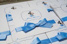 """INVITATII HANDMADE by Mariana: Invitatii botez """"Mickey Mouse"""""""