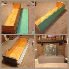 Baby Proofing Build A Quot Seat Quot To Go Over The Fireplace