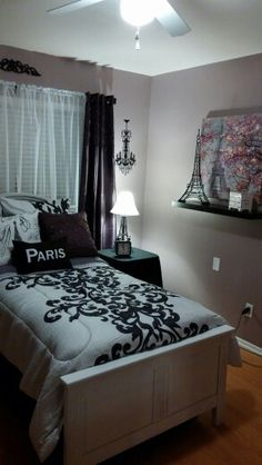 paris bedroom decor new york theme room 12865