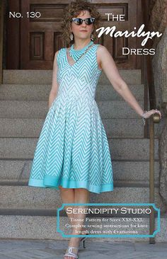 Marilyn Dress Sewing Pattern