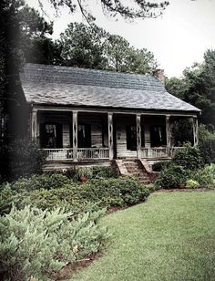 Azalea Magazine | This home was dismantled, numbered, moved, and put back together. Summerville, SC.