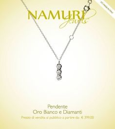 https://itcportale.it/?p=4807  Pendente Namuri Jewels: Oro Bianco e Diamanti Scopri lo STORE PARTNER piu' vicino a te su ItcPortale.it #itcportale #jewelry #diamond #lifestyle #musthave #wedding #engagement #madeinitaly #diamanti #orobianco #gioielli