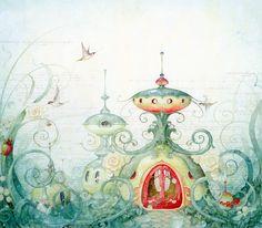 Full_Bloom ~  illustrated by Daniel Merrimam