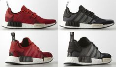 adidas NMD Geometric Pack - Red and Black