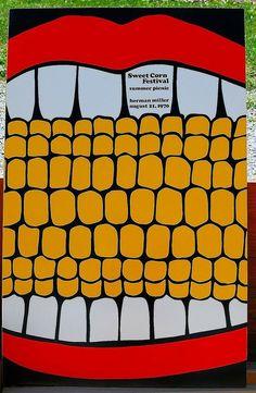 Herman Miller company picnic poster