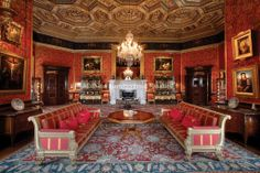 Alnwick Castle , Drawing Room