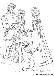 Gambar Mewarnai Untuk Anak Anak Drawings Frozen Coloring Pages