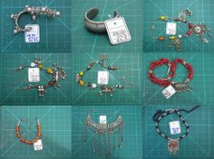 Wonderful collection of vintage Bedouin and tribal jewelry - LIQUIDATION ! #c-3