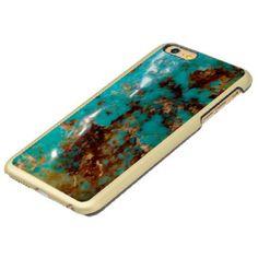 Natural Turquoise V5 Incipio Feather® Shine iPhone 6 Plus Case  #jeweled #luxury #option