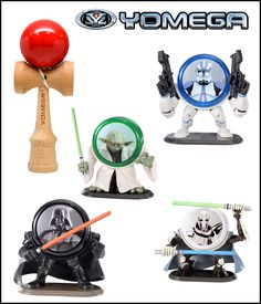 Back to School #Giveaway: Star Wars Yo-Men and Kendama Pro from @5minutesformom