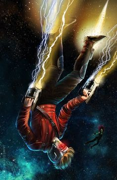 Star-Lord in Space - Jaime Gervais