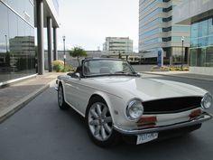 '70 TR 6 (pretty, but a Chevy V-6?) | eBay